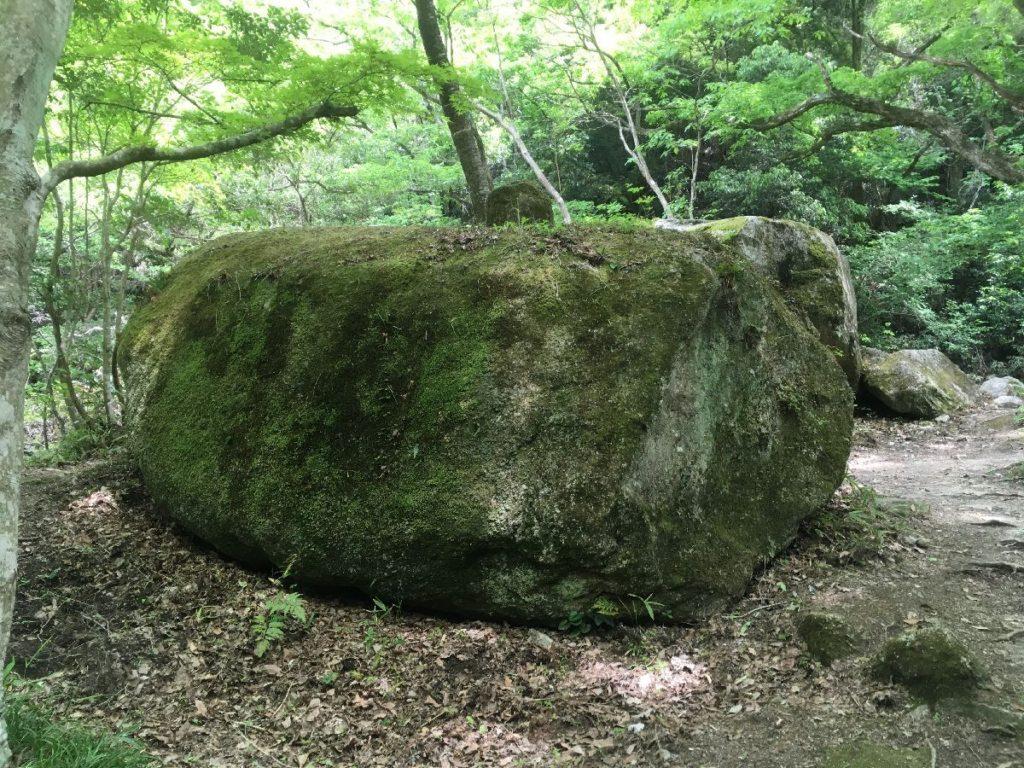 巨岩石/岩屋堂公園内